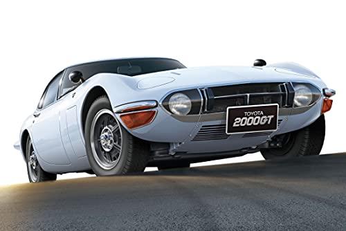 青島文化教材社 1/24 ザ・モデルカーシリーズ No.1 トヨタ MF10 2000GT 1969 プラモデル