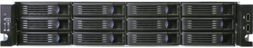 Chenbro RM23512E2-R620 620W 2U Rackmount Server Chassis with 12-Bays HDD Cage & 6Gb/s Mini-SAS & Expander Backplane