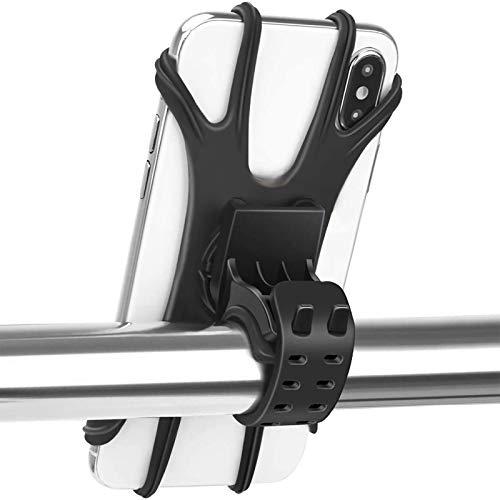 Handyhalterung Fahrrad, Enllonish Handyhalter Motorrad, Universal Outdoor Abnehmbare Fahrradhalterung Mit 360° Drehbare für 4,0-6,5 Zoll Smartphone