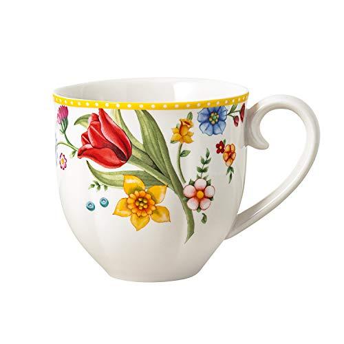 Villeroy & Boch Spring Awakening Kaffeebecher-Set, 2-tlg., 400 ml, Premium Porzellan, Bunt
