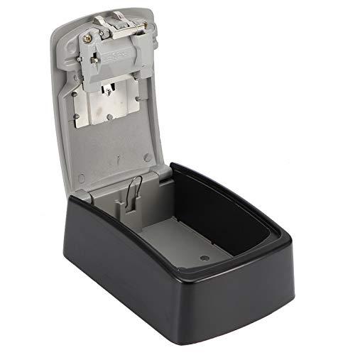 Zhat Caja de contraseña, Caja de Almacenamiento de Llaves de aleación de Zinc, Uso Fuerte de la Empresa para Uso en la Oficina de la fábrica Hogar(Grey, 14.5 * 10.5 * 5.5(cm))