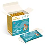 Flushable Wet Wipes for Adults & Kids, Unscented Hand & Bathroom Wipes, Safe & Hypoallergenic, Septic and Sewer Safe -15 Individually Wrapped Bags of 3 Wipes - Perfect for Travel