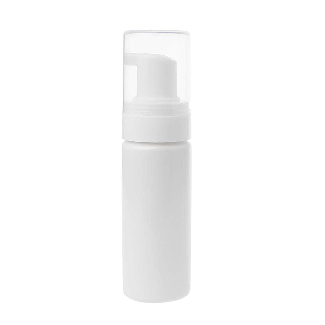 だらしない看板にんじんDabixx クリーニング旅行のための50ml空の泡立つびん旅行石鹸の液体の泡のびん - A#