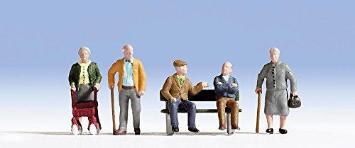 Noch - Figuren & Ausschmückungen für Modelleisenbahnen