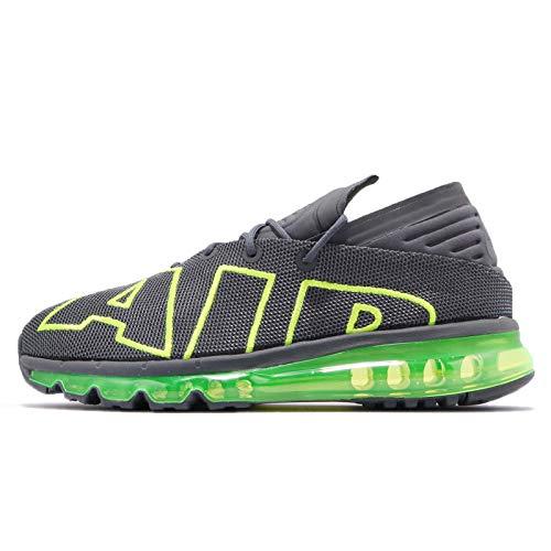 Nike Sneakers Air Max Flair Grigio-Giallo Fluo 942236-008 (41 - Grigio)