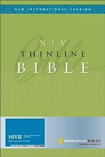 NIV Thinline Bible (New International Version)
