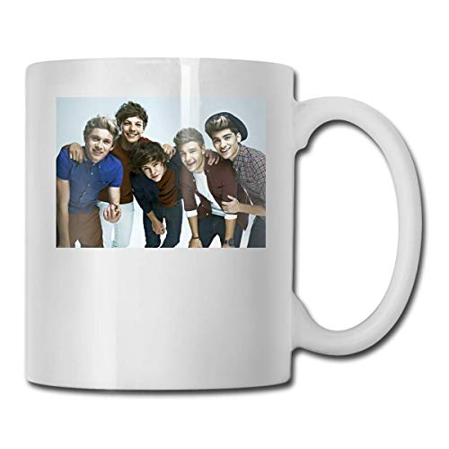 N\A One Direction Present In The World Taza Divertida de café o té Taza de Bebida con Personalidad de 11 oz (330 ml)