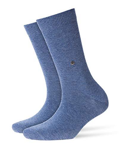 Burlington Damen Lady W SO Socken, 1er Pack, Blau (Light Jeans 6662, 36-41