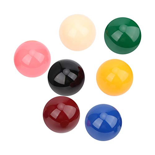 Gatuxe Snooker Ball Kit, 57,2 mm 17 Stück Billardkugeln für Bars