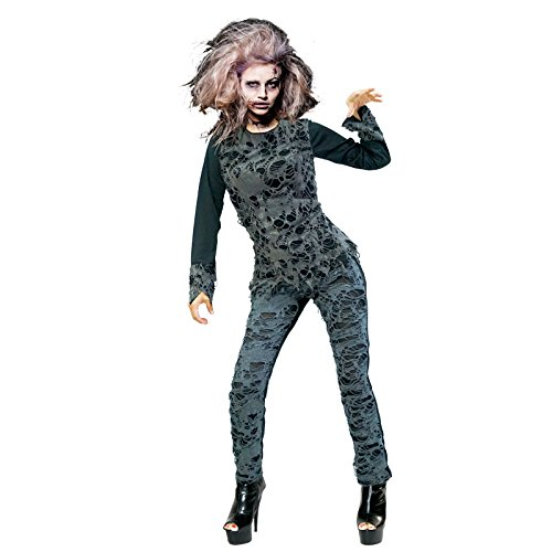Partilandia Disfraz Zombie Girl para Mujer (M)