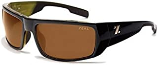 Zeal Optics Snapshot Polarized Sunglasses - Green / Olive Frame with Copper Lens