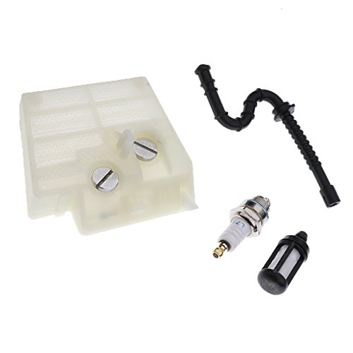 #N/A Manguera de filtro de aire, bujía, compatible con MS240 MS260 MS260C # 1121 120 1617