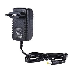 ammoon 9V 1A Netzteil Adapter Konverter für Gitarren Bass Effekt Pedal 100~240V Eingang EU Stecker