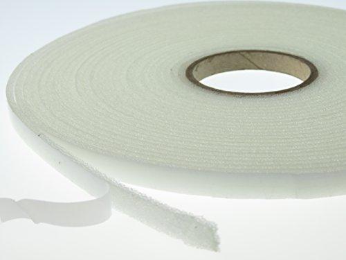 PU - Schaumstoffband Klebeband Weiß - 9 mm x 3 mm. Länge: 10 m Dichtungsband Türen, Fenster uvm.