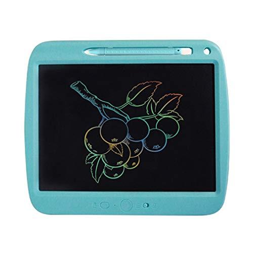 Tablero De Escritura Electrónico De Los Niños Recargables del LCD De 9 Pulgadas para El Niño Y Adultblue