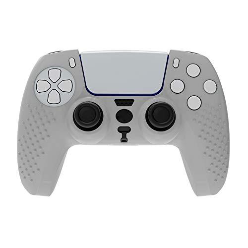Funda protectora de silicona antideslizante para mando de PS5, compatible con mando inalámbrico Playstation 5