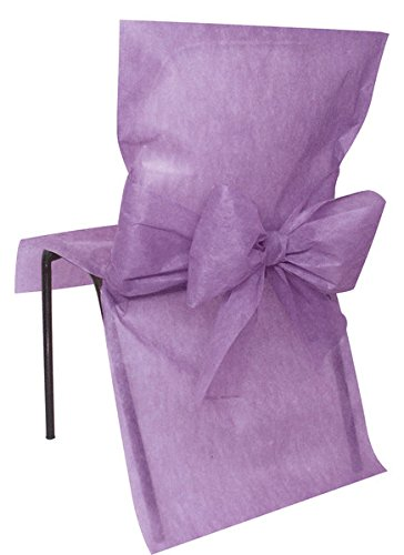 10 Housses de chaise Parme - taille - Taille Unique - 212666