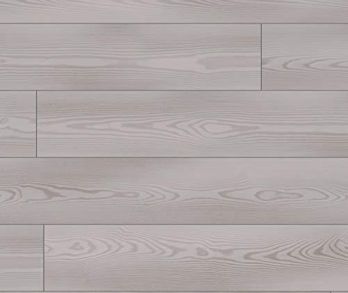KRONOTEX Laminat Pinie Landhausdiele grau Exquisit D 4707 Milkey Pine Grey I für 11,50 €/m²