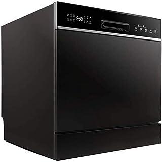 WYZXR Lavavajillas automático Hogar Escritorio Instalación Gratuita Embebido 8 Juegos de lavavajillas, Secadora