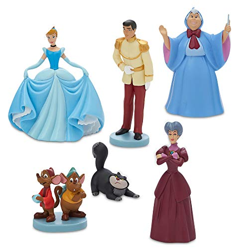 Disney Princess Cinderella 70th Anniversary Figur 6 Figur Figuren Spielset