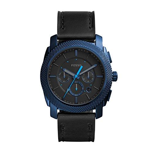 Fossil Herren Quarz Uhr mit Leder Armband FS5361