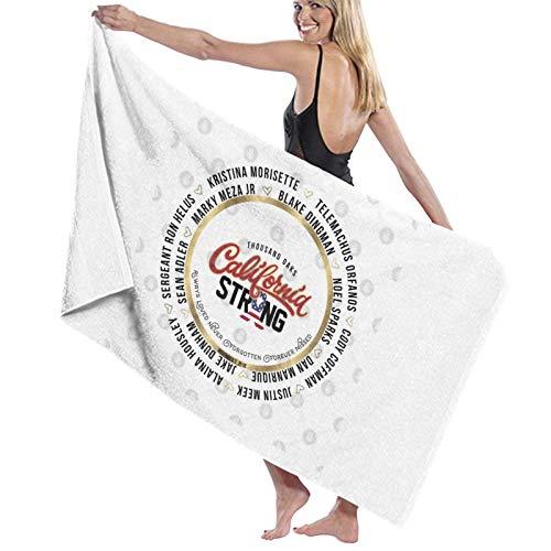 U/K Thousand Oaks California - Toalla de baño (secado rápido), diseño de camiseta de California