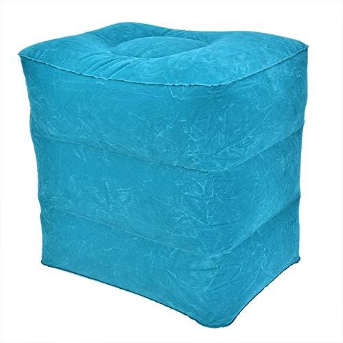 JONJUMP Nützliches aufblasbares, tragbares Reise-Fußstützkissen für Kinderbett