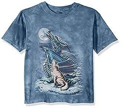 The Mountain Dragon Wolf Moon T-Shirt