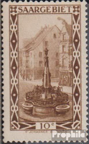 Prophila Collection Saarland 108II, rauchender Schornstein (Feld 38) 1926 Landschaftsbilder (V) (Briefmarken für Sammler)