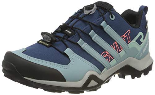 Adidas Terrex Swift R2 GTX W, Zapatillas Deportivas Tiempo Libre y Sportwear Mujer, Tech Indigo Ash Grey S18 Green Tint, 36 EU