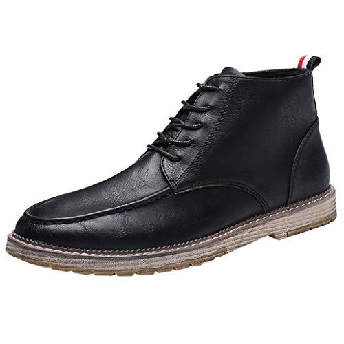 LSAltd männer Klassische komfortable rutschfeste Outdoor Stiefeletten Casual Kurze schnüren einzelne Schuhe