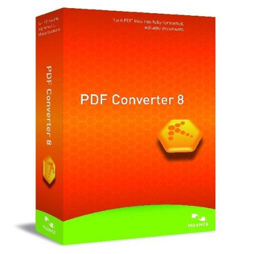 NUANCE PDF Converter 8.0 French (FR)