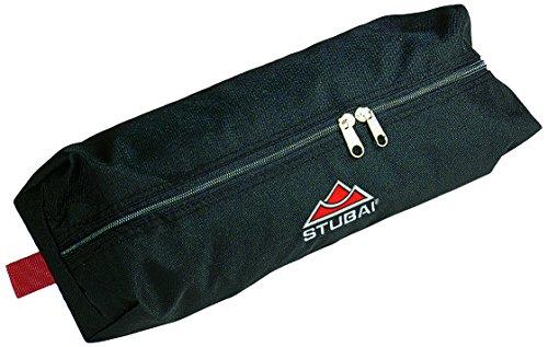 Stubai Sports Gearbag Zip - Borsa Porta ramponi con Cerniera, 50 g, Colore: Bianco