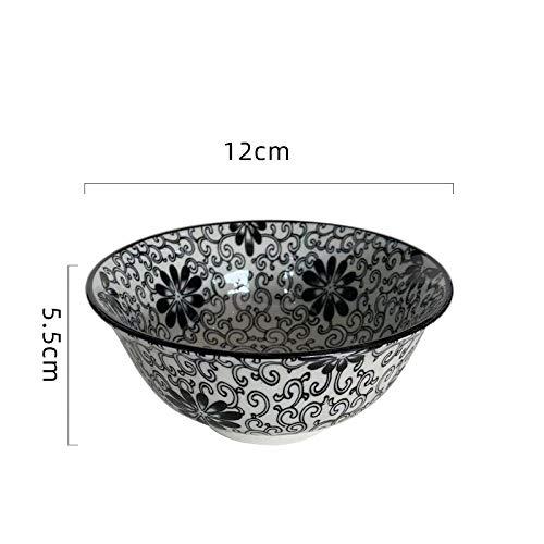 Kreative Große Schüssel Mit Geradem Mund Reisschale Unterglasur Farbe Schüssel Haushaltsreis Keramikschale Kleine Suppenschüssel Dessertschale