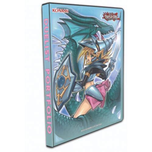 Konami - Zubehör Yu-Gi-Oh Album 9 Taschen-Dark Magician Girl The Dragon Knight, Duelist Portfolio, 178221