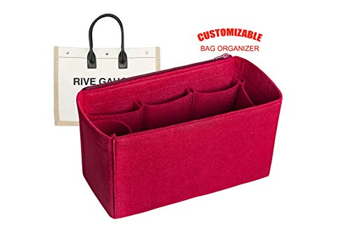 For'Saint Laurent Rive Gauche Shopper' Bag Organizer in 9 inches / 22.5cm Height - Worldwide-Shipping Time 3-5 Days