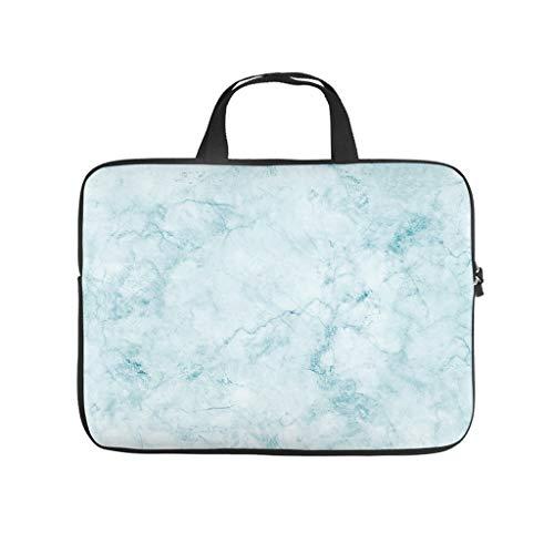 Funda para portátil con textura de mármol, impermeable, estilo moderno, adecuada para interiores y exteriores.