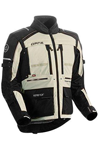 Dane LIMFJORD 2 GORE-TEX® Motorradjacke Farbe schwarz/sand, Größe 56