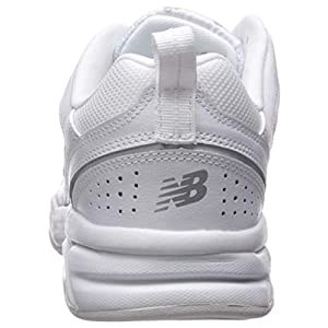 New Balance Women's 623 V3 Casual Comfort Cross Trainer, White/Silver, 7 M US