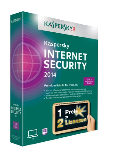 Kaspersky Internet Security 2014 - 2 PCs (Limited Edition) [import allemand]