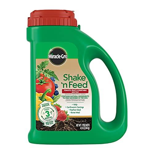Miracle-Gro Tomato, Fruit & Vegetable Fertilizer Shake 'N Feed