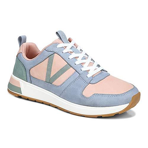 Vionic Curran Rechelle Damen-Sneaker, Schnür-Sneaker mit verdeckter orthopädischer Fußgewölbeunterstützung, (Misty), 39 EU