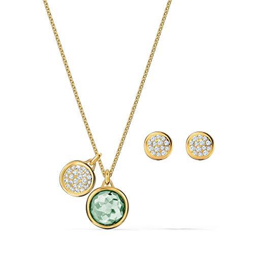 Swarovski Conjunto de joyas las mujeres Sin metal piedras preciosas Irregular - 5579789