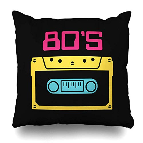 Not Applicable Funda De Almohada,Cassette Music Tape Old Song Play 80S Style...