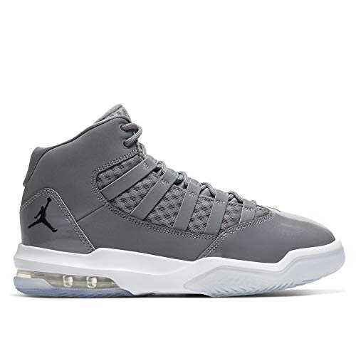 Nike Herren Jordan Max Aura Fitnessschuhe, Mehrfarbig (Cool Grey/Black/White/Clear 010), 39 EU
