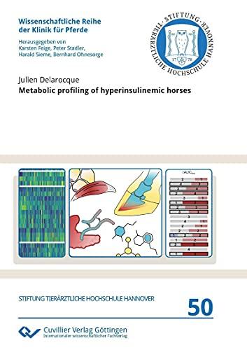 Metabolic profiling of hyperinsulinemic horses (Wissenschaftliche Reihe der Klinik für Pferde) (English Edition)