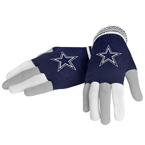 FOCO NFL Dallas Cowboys Multi Color Team Knit Glove