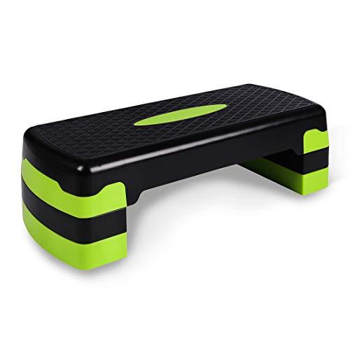 Ultrasport Step de aeróbic / step / stepper de aeróbic, altura regulable,...