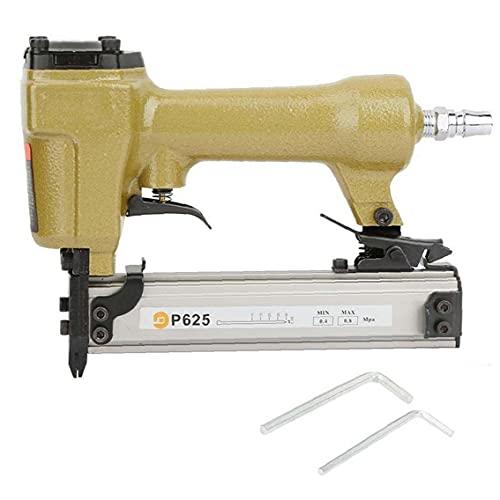 Sanfiyya Aire Pin Clavadora Grapadora neumática P625 10-25mm Clavo de la Herramienta eléctrica para Trabajar la Madera Mueble de casa