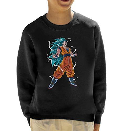 Cloud City 7 Goku Super Saiyan Three Dragon Ball Z Kid's Sweatshirt
